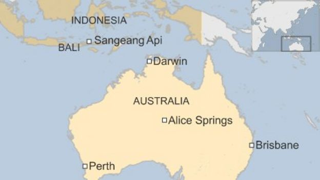 Volcano ash clouds force Australia flight cancellations BBC News