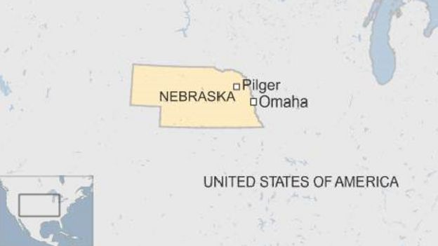 Map Of Pilger Nebraska