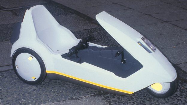 Sinclair C5 Built In Merthyr In 1984 Was Ahead Of Its Time Bbc