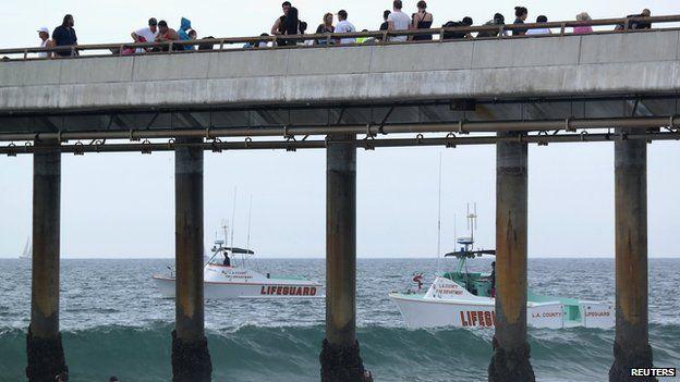 Lifeguard boats at Venice BeachLightning strike kills man on Venice Beach  Los Angeles   BBC News. Old Lightning Venice Ca. Home Design Ideas