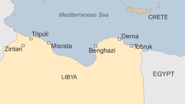 Where is Benghazi?