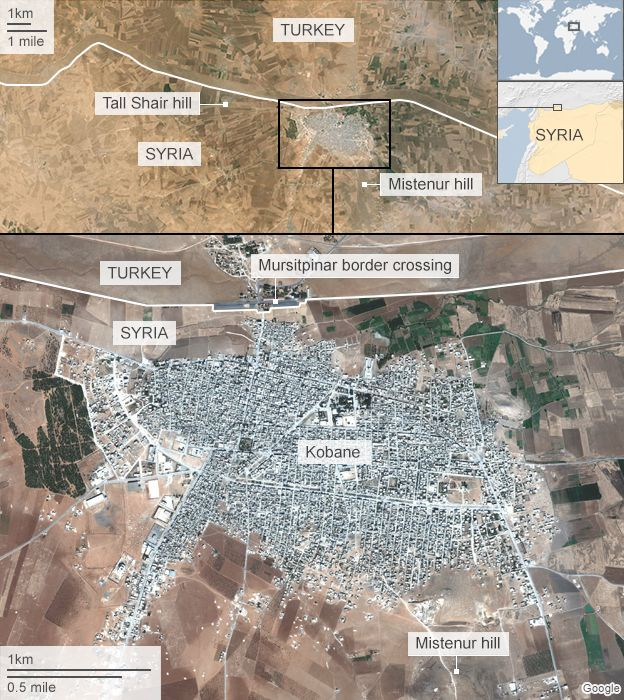 Syria crisis IS makes deadly return to Kobane BBC News