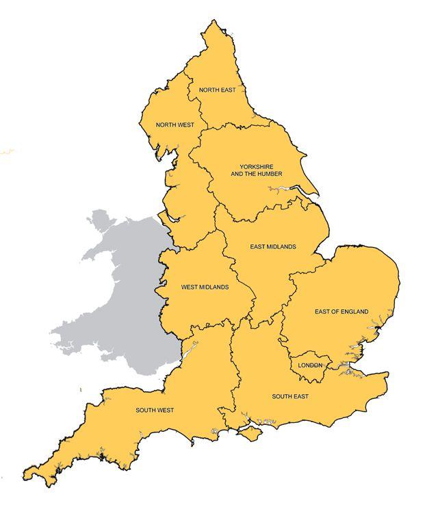 The awkward jigsaw of Englands boundaries  BBC News