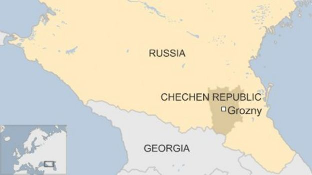 Image result for russia map grozny
