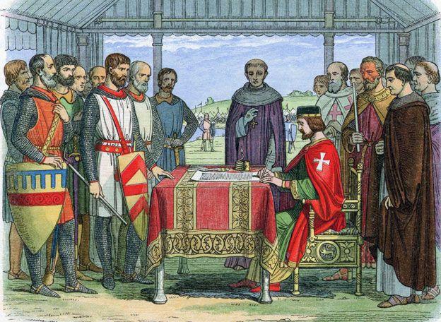Did King John actually 'sign' Magna Carta? - BBC News