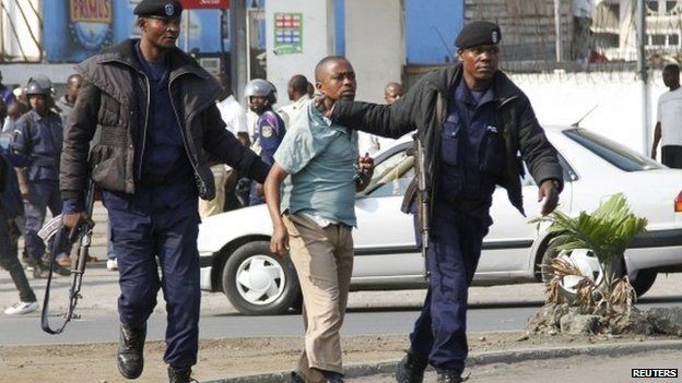 Image result for DR Congo worst police