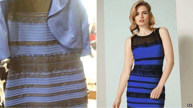 Optical illusion: Dress colour debate goes global - BBC News