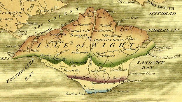 William Smith Seminal geology map rediscovered  BBC News