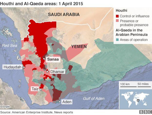 Yemen crisis reignites fear of alQaeda global threat  BBC News