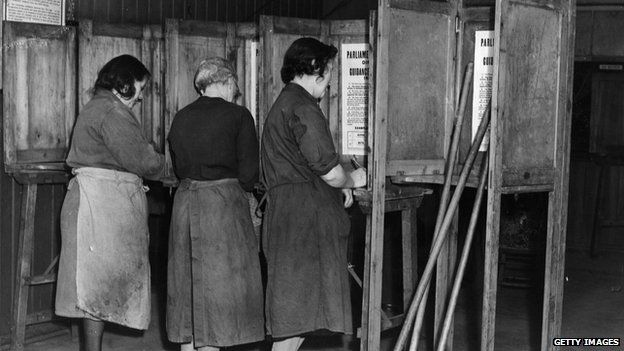 Image result for old english voting booths