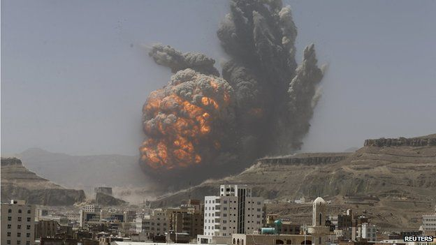 Image result for Houthis yemen attack Saudi Arabia