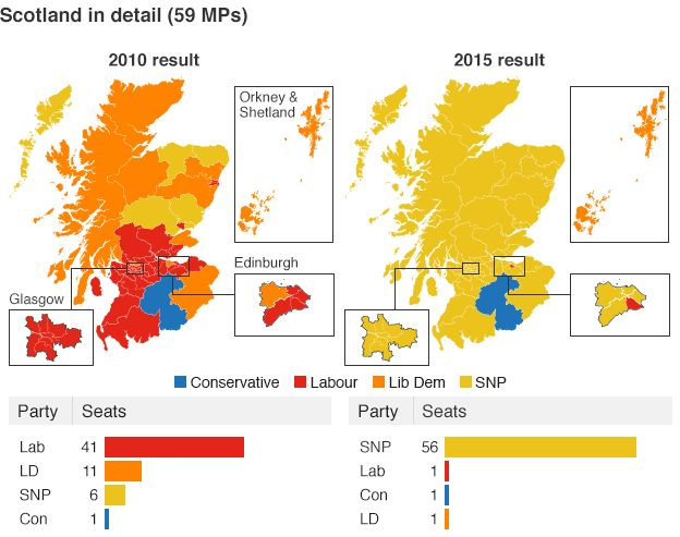 Image result for scottish general election map