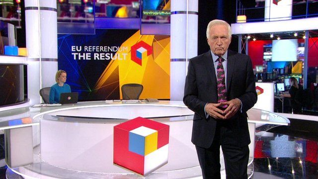 David Dimbleby in studio