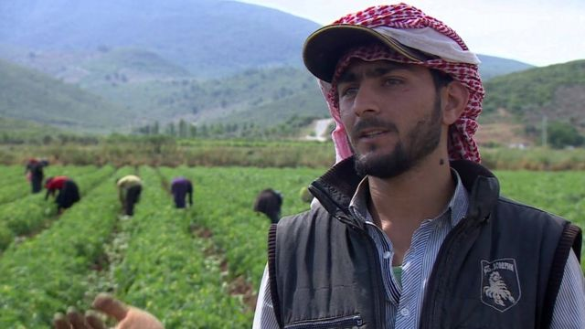 Syrian refugee Murad