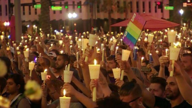 Orlando candlelit vigil