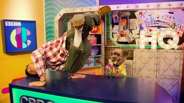 Mannequin challenge at CBBC
