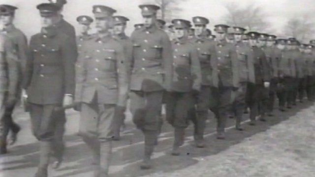 The soldiers who fought in the Battle of the Somme