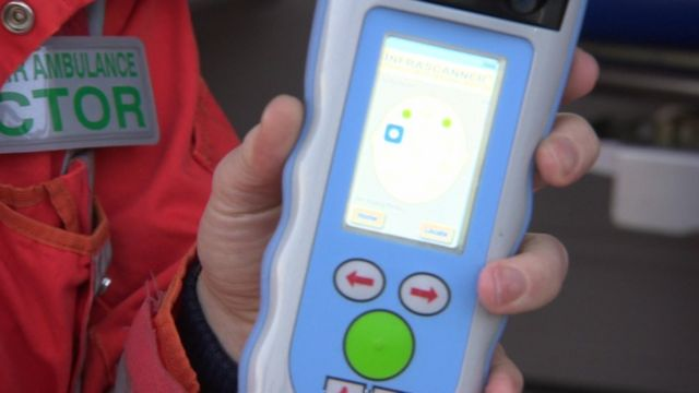 A hand-held brain scanner