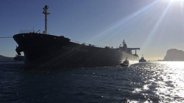 Iranian oil arrives in Spain