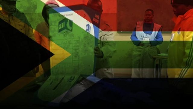 South Africa election graphic