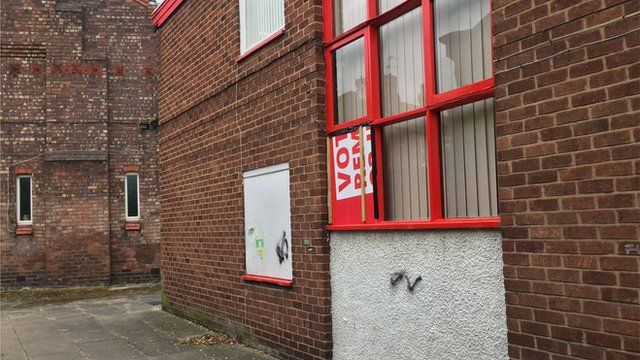 Angela Eagle's constituency office vandalised