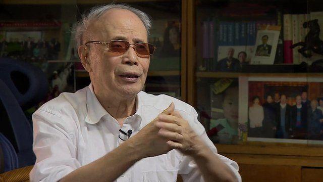 Founder and director of Yanhuang Chunqiu magazine Du Daozheng