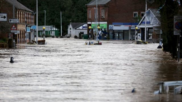 Storm Desmond has caused major flooding in parts of the UK