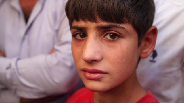 Brother of child victim of Turkey's wedding bomb