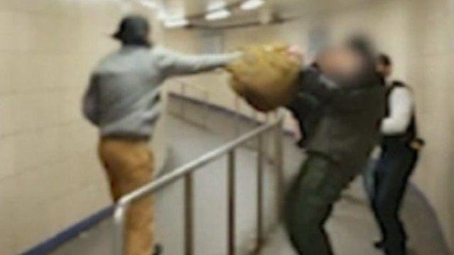 Attack at Leytonstone Tube station