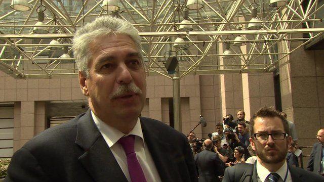 Austrian Finance Minister Hans Schelling
