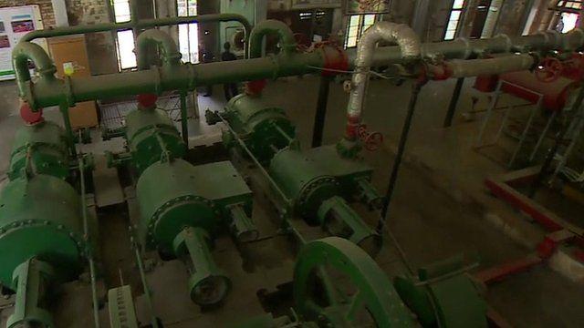 Yangon's sewer system