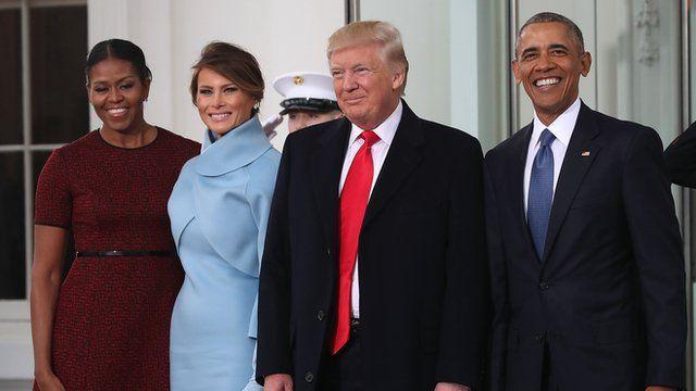 Трамп жана Обама