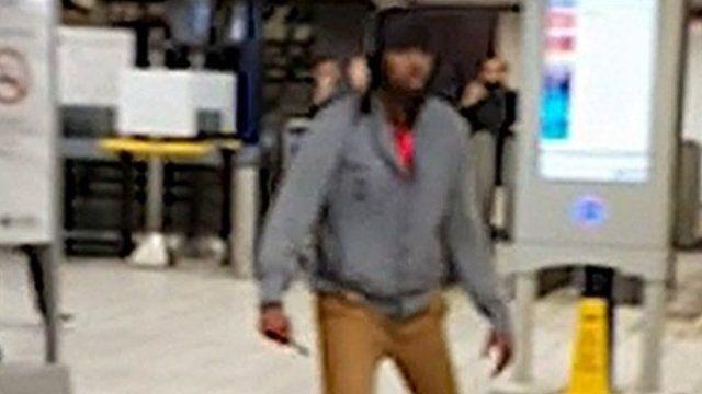 Attacker at Leytonstone Tube station