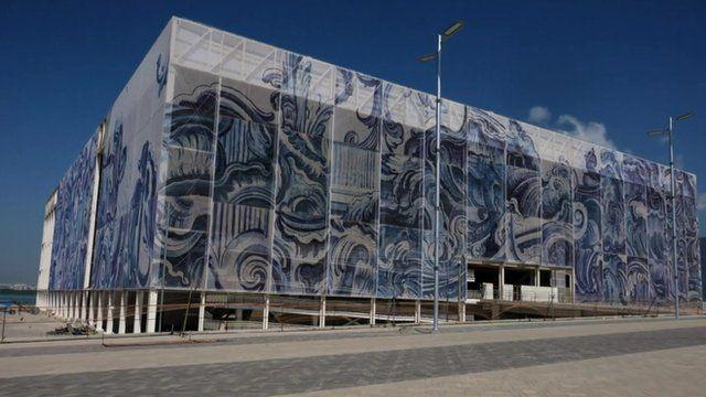 Rio aquatics venue