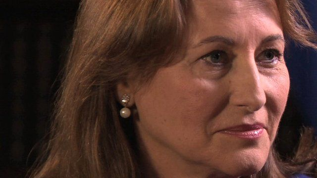 Segolene Royal, French Environment and Energy minister