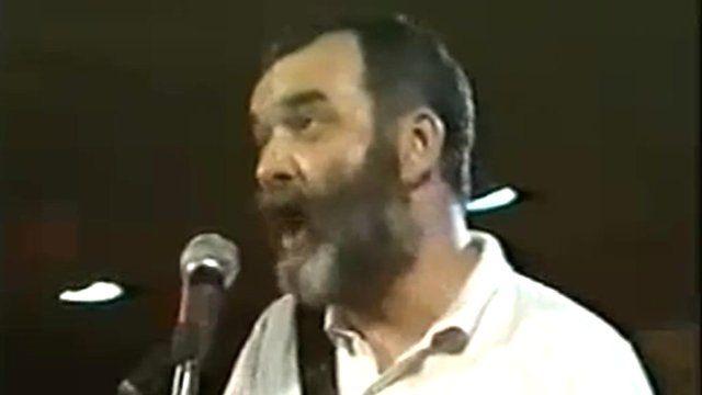 Folk singer Joe Stead