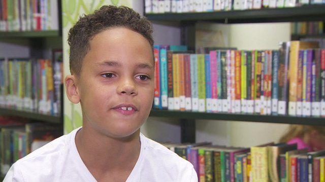Reuben wants more diversity in children's books.