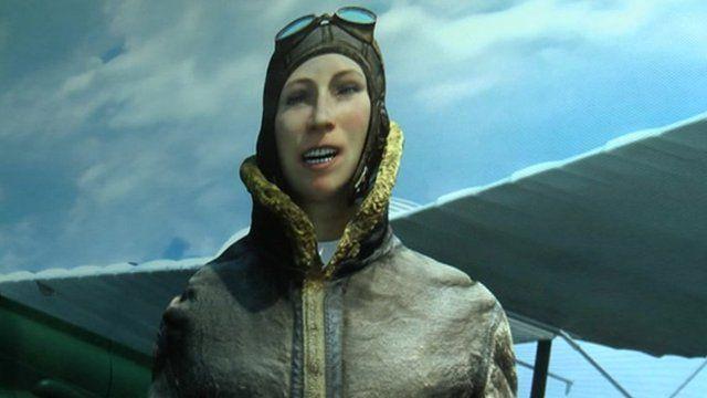 Virtual Amy Johnson