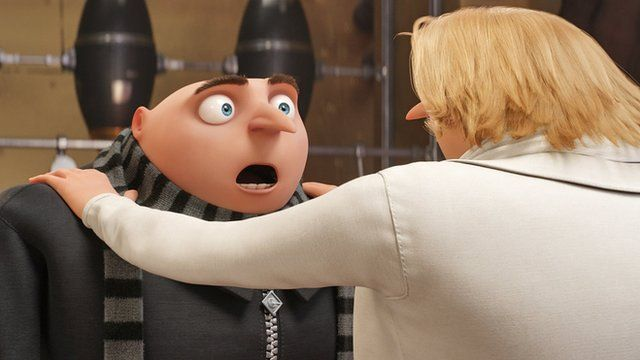 Gru from Despicable Me 3