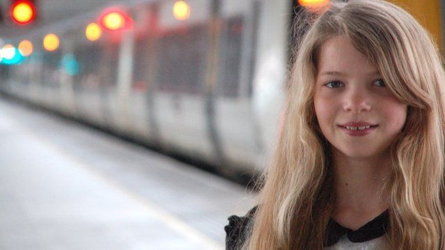 Izzy is the ten-year-old-daughter of a rail worker