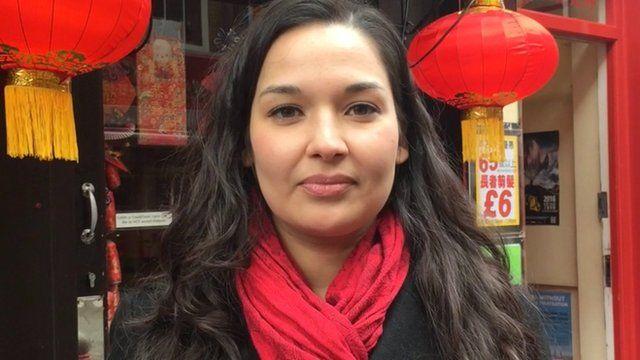 BBC journalist Laura Westbrook
