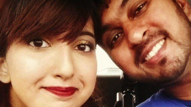 Anisah Kauser and her boyfriend