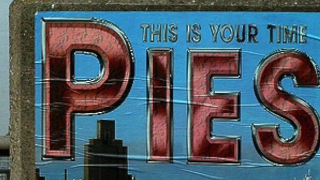 The story behind the graffiti that's cropped up all over the North of England for the past 30 years.