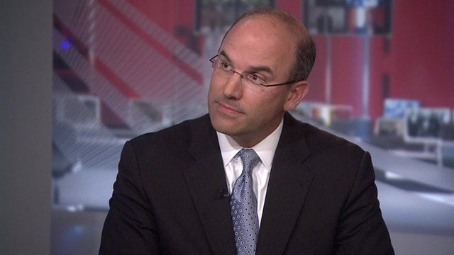 Juan Zarate discusses security in Europe with the BBC's Katty Kay