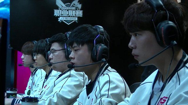 Wei Zhen and other professional gamers