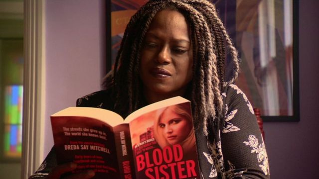 Author Dreda Say Mitchell