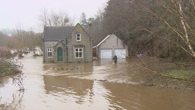 Flooded Ellon Residents Feel The Force Of River Ythan