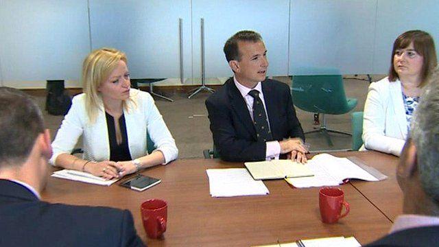 Alun Cairns meets business leaders