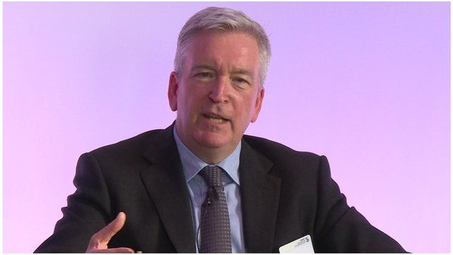 Jaguar Land Rover's group strategy director, Adrian Hallmark