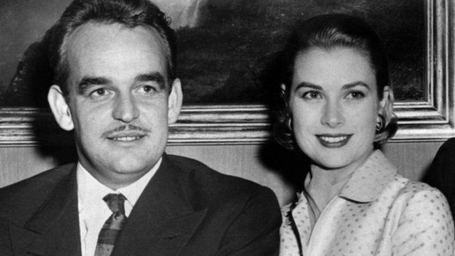 Prince Rainier and Grace Kelly